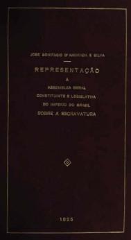clique para abrir a proposta de José Bonifácio para extinguir a escravidão no Império