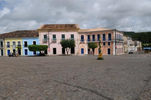 Largo - vista a partir da Casa de Câmara - Foto de Elias Mascarenhas